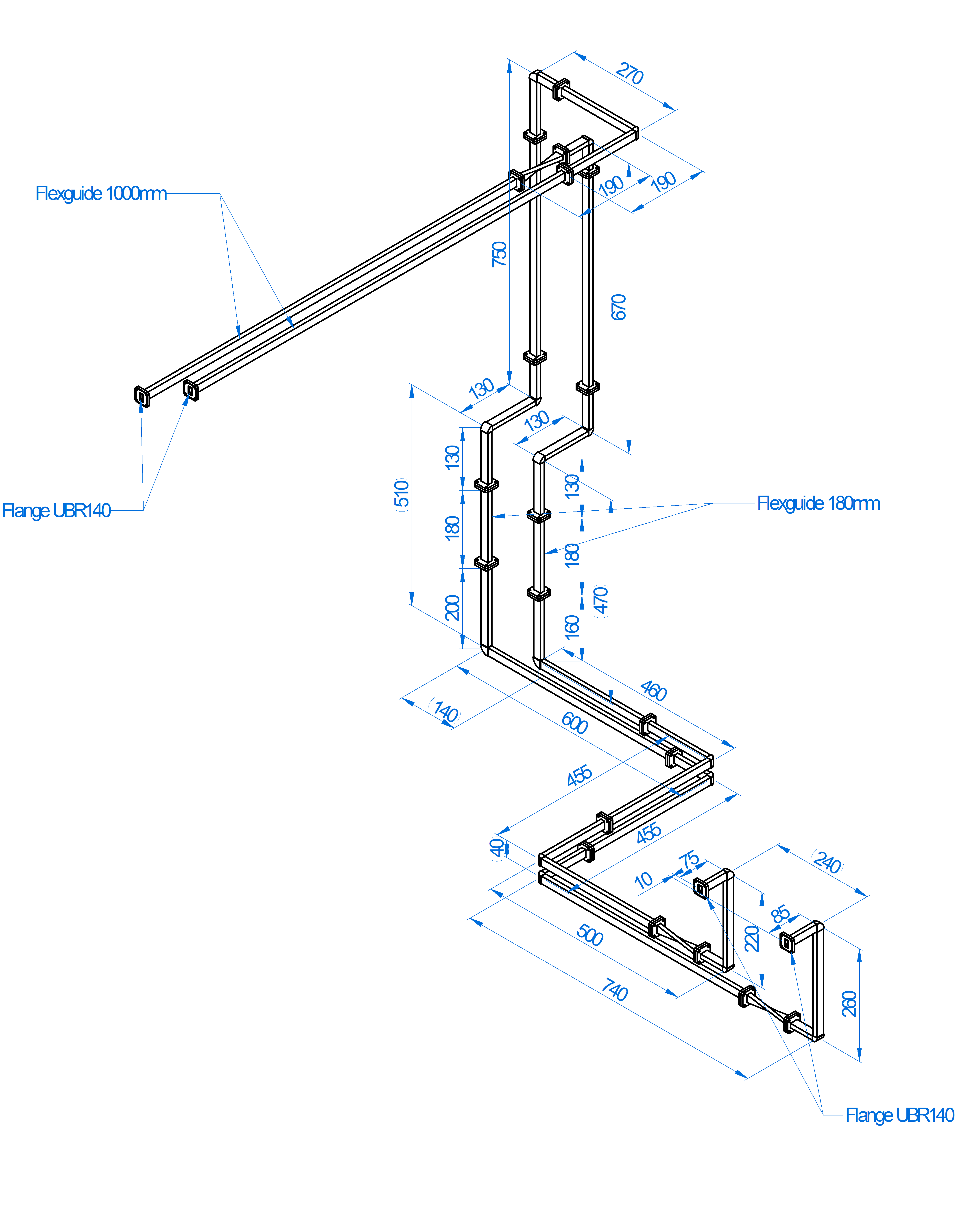 Waveguide routing specs